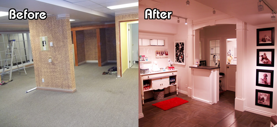 Mucky Mutt Salon – Before and After