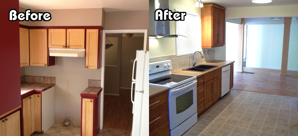 Chris Kitchen – Before After
