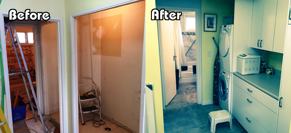 Before and After Smart Cupboards